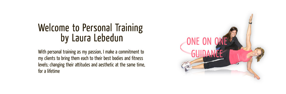 With personal training as my passion, I make a commitment to my clients to bring them each to their best bodies and fitness levels, changing their attitudes and aesthetics at the same time, for a lifetime.